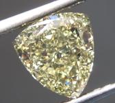 SOLD...Loose Yellow Diamond: 1.50ct Fancy Yellow SI2 Trilliant Diamond GIA R7115