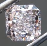 Loose Pink Diamond: .87ct Very Light Pink IF Radiant Cut Diamond GIA R7130