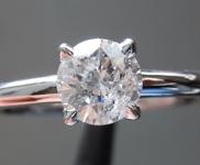 0.61ct I I2 Round Brilliant Diamond Ring R6911
