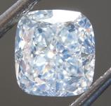 SOLD....Loose Green Diamond: 1.52ct Faint Green VS1 Cushion Modified Brilliant Diamond GIA R7149
