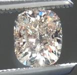 Loose Brown Diamond: .52ct M (Light Brown) SI1 Cushion Cut Diamond R6997