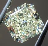 SOLD......Loose Yellow Diamond: 1.53ct W-X VVS1 Radiant Cut Diamond GIA R7164