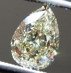 SOLD.....Loose Yellow Diamond: 1.10ct W-X Internally Flawless Pear Modified Brilliant Diamond GIA R7161