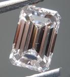 SOLD....Loose Pink Diamond: 1.01ct Very Light Pink VVS2 Emerald Cut Diamond GIA R7123