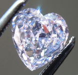 Loose Diamond: .71ct Fancy Purplish Pink SI1 Heart Shape Diamond GIA R7209