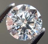 SOLD....Loose Colorless Diamond: 1.01ct G I1 Round Brilliant Diamond GIA R7225