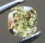 SOLD.........Loose Yellow Diamond: .63ct Fancy Intense Yellow VS1 Cushion Modified Brilliant Diamond GIA R7281