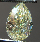 SOLD....Loose Yellow Diamond: 1.51ct Fancy Light Yellow VS2 Pear Modified Brilliant Diamond GIA R7299