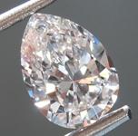 SOLD..Loose Colorless Diamond: .82ct D VS1 Pear Shape Diamond GIA R7308