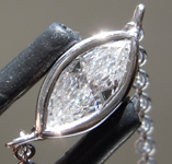 0.20ct F-G VS1 Marquise Diamond Necklace R7201