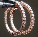 SOLD...1.72ctw E-F VS Round Brilliant Diamond Earrings R7256