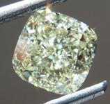 SOLD.......Loose Yellow Diamond: 1.19ct Y-Z VS2 Cushion Cut Diamond GIA R7336