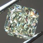 SOLD....Loose Yellow Diamond: 1.77ct U-V Internally Flawless Radiant Cut Diamond GIA R7337
