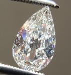 SOLD... Loose Colorless Diamond: .75ct H I1 Pear Shape Diamond GIA R7325