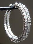 SOLD... 2.05ctw G VS Round Brilliant Diamond Earrings R7315