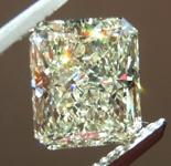 Loose Yellow Diamond: 1.86ct W-X SI1 Radiant Cut Diamond GIA R7357