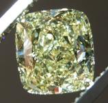 Loose Yellow Diamond: 2.01ct Fancy Yellow SI1 Cushion Cut Diamond GIA R7366