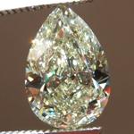 Loose Yellow Diamond: 3.02ct U-V VS2 Pear Shape Diamond GIA R7340