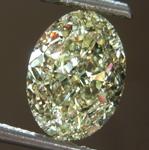 SOLD.....Loose Yellow Diamond: 2.50ct W-X VS2 Oval Modified Brilliant Diamond GIA R7380