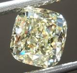 SOLD....Loose Yellow Diamond: 2.02ct W-X VVS1 Cushion Cut Diamond GIA R7443