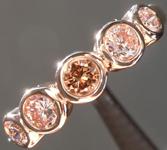 SOLD......Pink Diamond Ring: .57ctw Natural Pink Round Brilliant Diamond Ring R5996