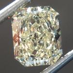 SOLD.......Loose Yellow Diamond: 1.14ct Y-Z VVS1 Radiant Cut Diamond GIA R7501