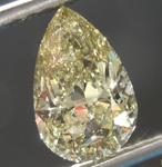 Chameleon Diamond: 2.02ct Fancy Deep Greenish Yellow Chameleon SI2 Pear Brilliant Diamond GIA R7517