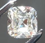 Loose Colorless Diamond: .48ct K SI1 Cushion Brilliant Diamond GIA R7441