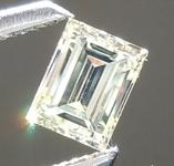 SOLD....Loose Yellow Diamond: .24ct Fancy Light Yellow VS1 Baguette Diamond R5365