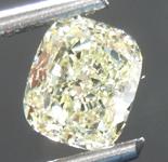 SOLD.....Loose Yellow Diamond: 1.02ct Y-Z VS2 Cushion Cut Diamond GIA R7579