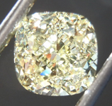 SOLD.......Loose Yellow Diamond: 1.50ct Y-Z VVS1 Cushion Cut Diamond GIA R7578