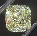 SOLD....Loose Yellow Diamond: 1.13ct Y-Z VS2 Cushion Cut Diamond GIA R7604