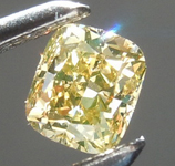 SOLD...Loose Diamond: .34ct Fancy Orange Brown VS1 Cushion Cut Diamond R9345