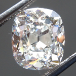 SOLD....Loose Colorless Diamond: 1.70ct G VS2 Cushion Brilliant Diamond GIA R7628