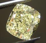 Loose Yellow Diamond: 2.62ct Fancy Yellow VS1 Cushion Cut Diamond GIA R7651