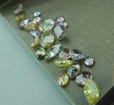 Loose Diamonds: 4.58ctw Natural Fancy Colored Diamond Parcel GIA R7663