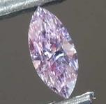 SOLD... Loose Purple Diamond: .06ct Fancy Intense Pinkish Purple Marquise Diamond GIA R7671