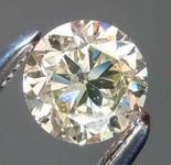 Loose Yellow Diamond: .45ct U-V SI1 Round Brilliant Diamond R7738