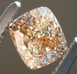 .60ct Fancy Dark Orange-Brown I2 Cushion Cut Diamond GIA R7702