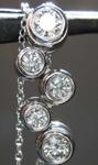 SOLD......... .69ctw F VS1 Round Brilliant Diamond Necklace R7743
