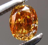 SOLD....29ct Fancy Deep Brown Yellow I1 Cushion Cut Diamond GIA R7801