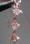 .71ctw Natural Pink Radiant Cut Diamond Pendant R7750