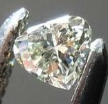 SOLD.....0.07ct Grayish Greenish Yellow VS1 Chameleon Diamond GIA R7793