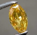 0.55ct Fancy Brownish Yellow SI1 Oval Diamond GIA R7805