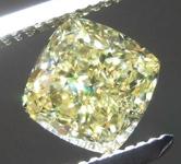 1.26ct Fancy Intense Yellow SI1 Cushion Cut Diamond GIA R7842