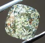SOLD.........3.01ct W-X VVS1 Cushion Cut Diamond GIA R7868