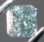 .51ct Blue-Gray SI2 Radiant Cut Diamond R7769
