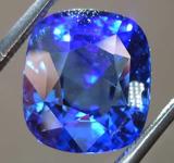 SOLD........4.76ct Blue Cushion Cut Sapphire R7904