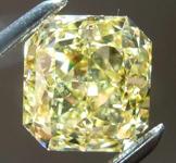 2.01ct Intense Yellow SI1 Radiant Cut Diamond R7911