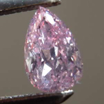 .27ct Intense Purple-Pink I1 Pear Diamond R7913
